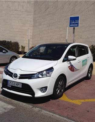 la manga taxi international san havier cab